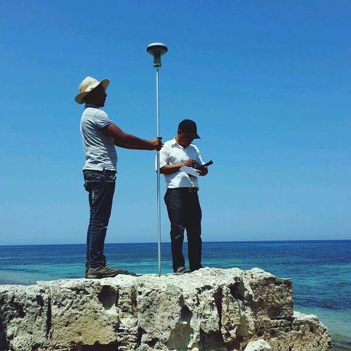 GPS Workshop Field Beach Day