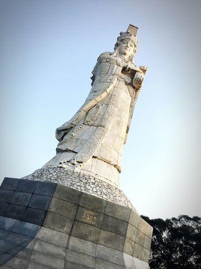 EyeEm Selects Lady Macau Ladystatue Statue Outdoor WhenInMacau Mobiography Mobilephotography Mobile Photography
