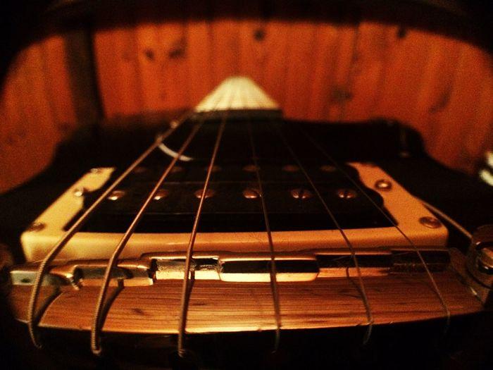Macro Guitar Rock