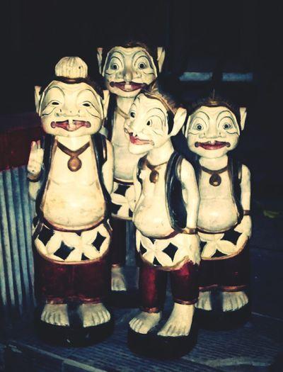 Punakawan puppets Taking Photos INDONESIA Blitar Blitarian Blitarianindonesia Explore Blitar Jelajah Blitar Blitarian Indonesia Blitarian Photo Club Dark Photography