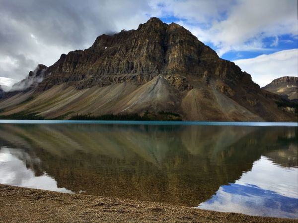 Mountain reflection Lakeside Landscape Lake Hiking Mountains Landscape_photography Landscapelovers Landscape_Collection Hiking Photography Water Sky Mountain Beauty In Nature Scenics - Nature Lake Cloud - Sky Mountain Range Reflection Tranquil Scene Tranquility Nature Non-urban Scene Waterfront Environment Formation