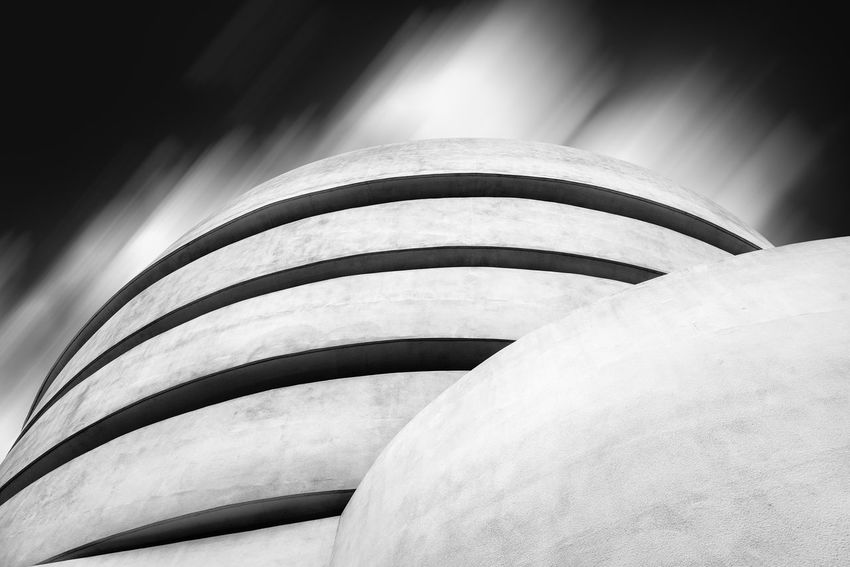 Solomon R. Guggenheim Museum in NYC Architecture No People Built Structure Low Angle View Day Building Exterior Nature Outdoors Building Sky Solomon R. Guggenheim Museum Guggenheim Guggenheim Nyc Frank Lloyd Wright Architecture Frank Lloyd Wright Architecture Manhattan NYC Modern Architecture Long Exposure Black And White Pattern Close-up Curve Staircase Backgrounds Full Frame Spiral Sunlight Modern Concrete Ceiling