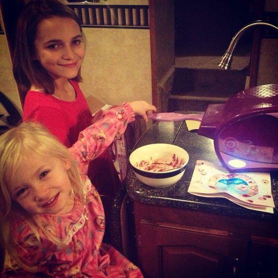 Easy-Bake baking!!