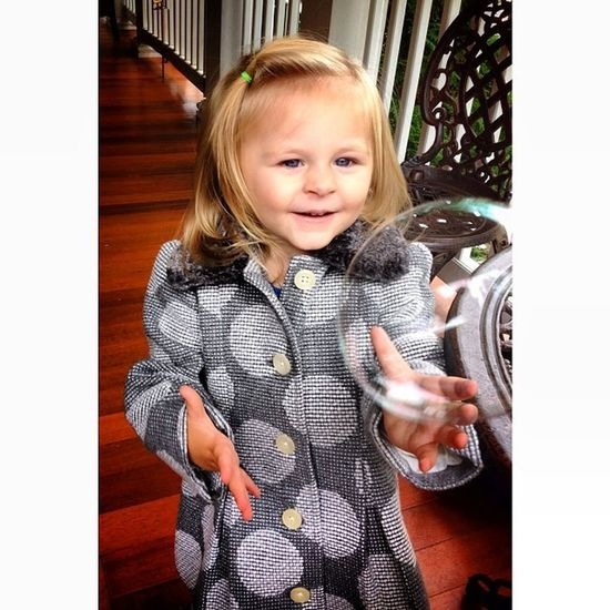 Playing with bubbles in her new coat! Ckcsept2013 Day27 Somethingnew Adorable ak_feature babies babycenterbabies beautiful babiesofinstagram cute cheeks childstudio cutekidsclub heart ig_kids instababy kidz_korner love mom_hub pretty themommarazzischool thechildrenoftheworld photooftheday ootd happy