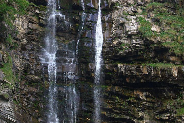 Glarus Swiss Waterfall Nature