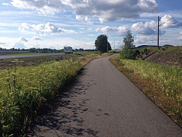 Nice Cycling today! Leksand Dalarna Summer