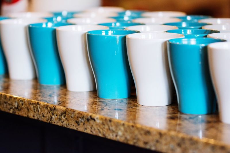 Beautifully Organized Indoors  Table Arrangement Close-up No People cups First Eyeem Photo