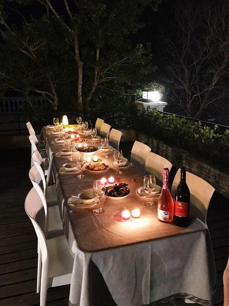 BEIJING北京CHINA中国BEAUTY Candle Table Illuminated No People Food And Drink Burning Food Night Indoors  Wedding Reception Eaten 物