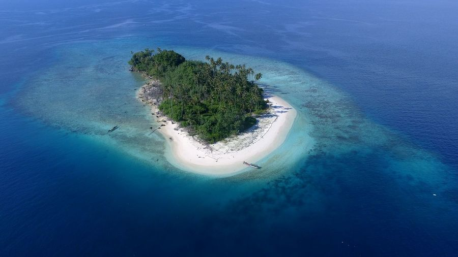 Aerial View High Angle View Water Blue Sea Tropical Climate Beach Nature No People Vacations Beauty In Nature Scenics Outdoors Landscape Discover Aceh Island Island Life Islandsofadventure Island View  Islandaerial Aerial Shots Aerial Photography Aerial Photo Tropicisland Tropical Paradise