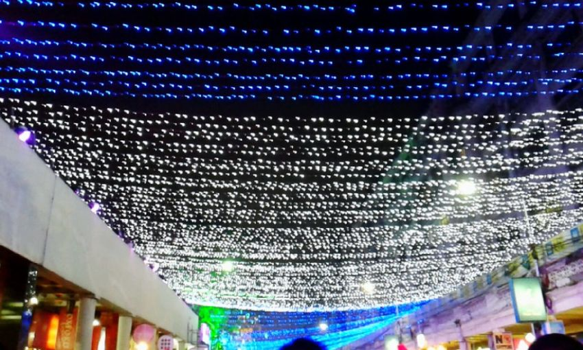 All The Neon LightsThe New Year Lighted in front The Park Hotel, Kolkata, India Likeforfollow EyeEmbestshots Likeforlike Like4like Eyeem Exclusive Eyeembestpics Instagram City Lights