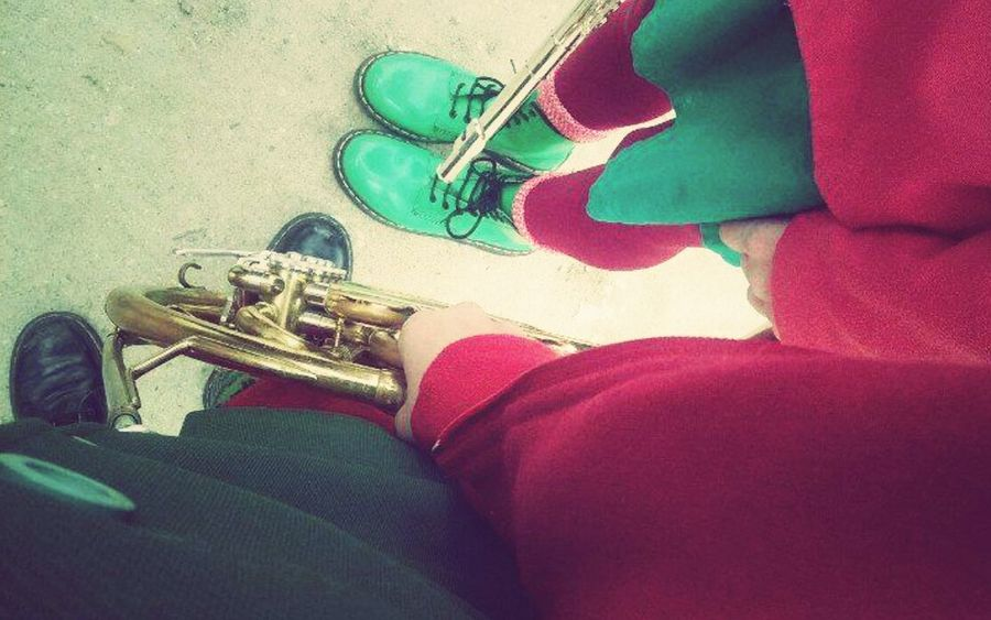 Music Fanfare Young Best  My Flute French Horn ❤