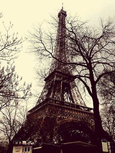 I made this picture in Paris, of course, last year in March