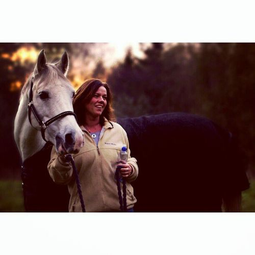 My mum and her horse <3 Lucasphotography Love Picoftheday Instadaily mum horse
