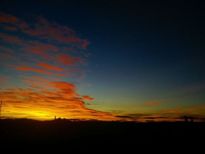Flamarades a la Seu Vella Seu Vella Seu Vella Lleida Sunset Scenics Dramatic Sky Orange Color Silhouette Nature Beauty In Nature Outdoors Landscape Tranquil Scene No People Tranquility Sky Cloud - Sky Night Astronomy