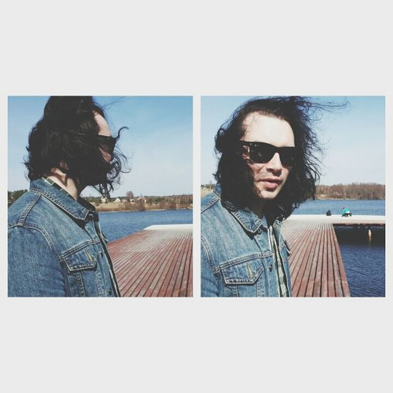 chumich Rockstar Man Hair Hello World