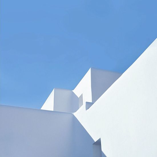 The Graphic City Architecture Minimalist Architecture Geometric Shapes Mykonos,Greece