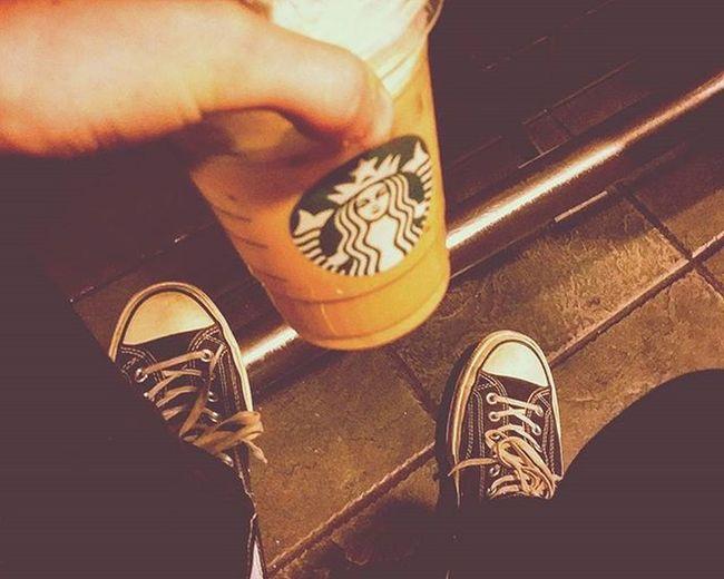 ☕🍃🍂🍁 Fall Pumpkimspice Starbucks Vintage Iced Urban Life Alternative Indie Converseandjeans Chill Cafebar Photography Blurandfocus Highlightsandshadows