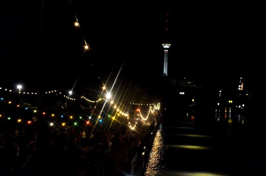 Envision The Future from light to television Berlin Berlin Photography Night Night Lights Nightphotography Fernsehturm Tvtower River Riverside Spree From My Point Of View EyeEm Best Shots EyeEm EyeEm Best Shots - Landscape Landscape_Collection Skyline City City Life Cities At Night