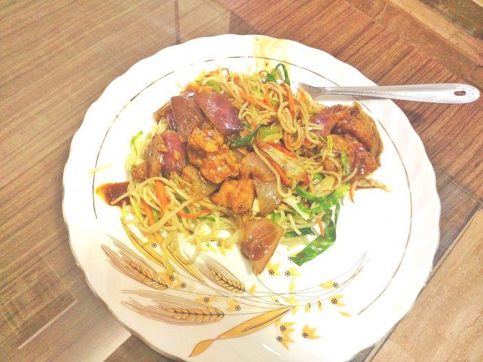 Foodiegram Chinesefood Noodles Chicken Manchurian EyeEm Food Photography EyeEm Gallery EyeEm Team EyeEm Masterclass