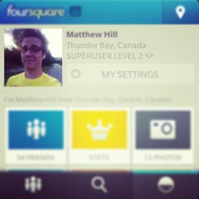 Foursquare Superuser Level2 :)