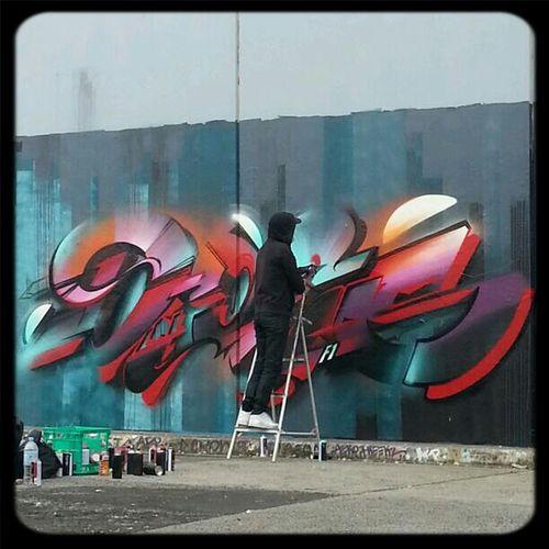 Streetart Mural Digital Does