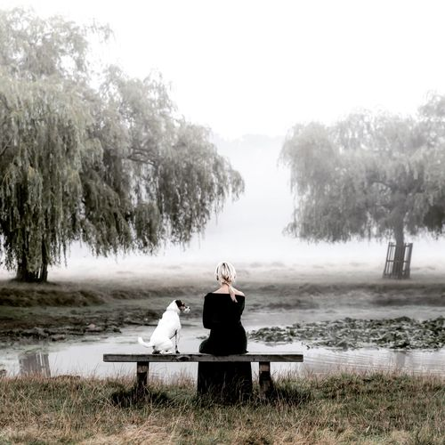 Blackandwhite Bw Calm Friends Lake Landscape Lonely Meditation Portrait Portrait Of A Woman Thoughts Thoughts & Quotes Togetherness Tranquility Women First Eyeem Photo