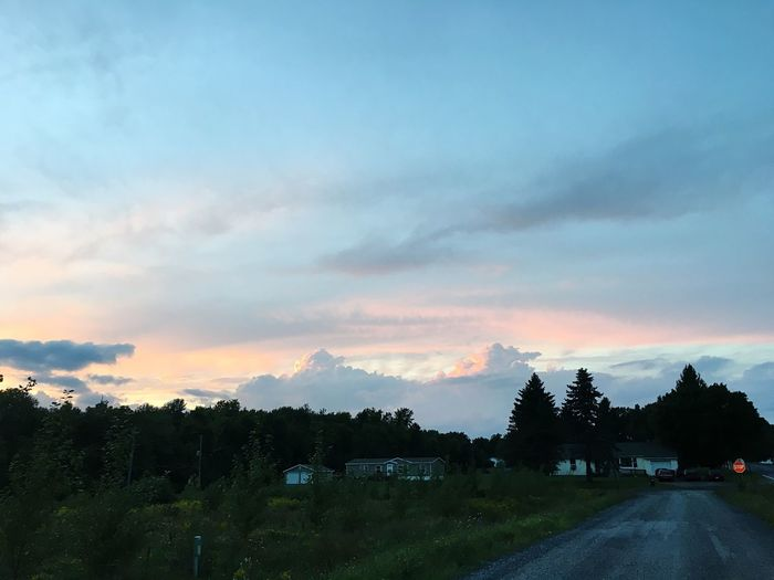 Nature Country Road Sky