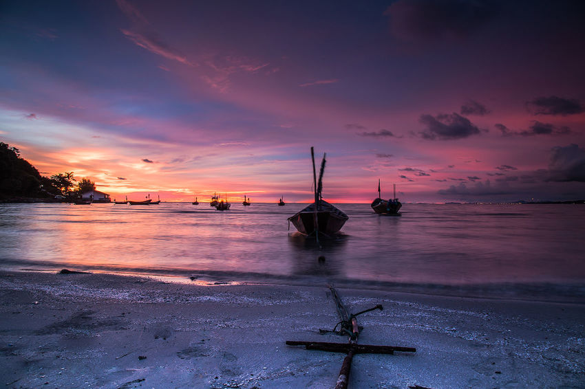 Water Nautical Vessel Sea Sunset Beach Beauty Tree Blue Arrival Galaxy Lagoon Seascape Island