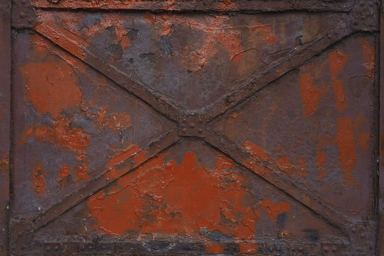 Rusty gate of