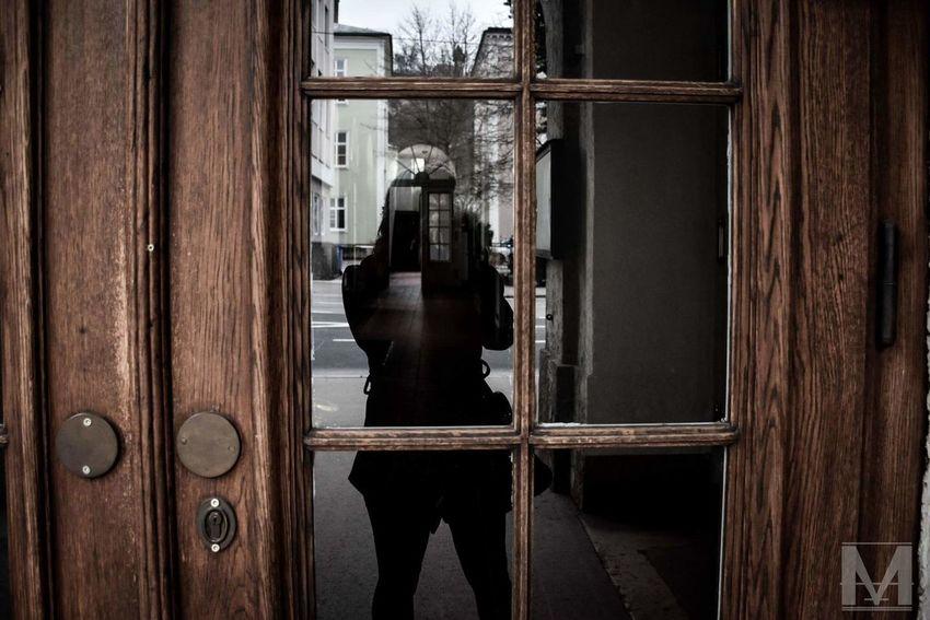 ThatsMe Reflection Eye4photography  Hiworld Doyourthing Travel Explore Salzburg Denkwasschönes Door Eyewideopen Behind The Lens