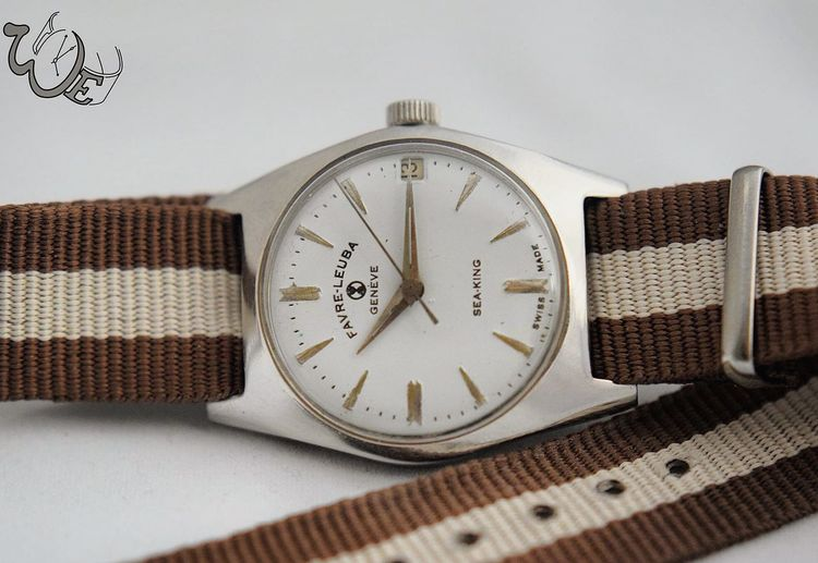 Favre-Leuba Geneve Sea-King On Nato strap Watch Vintage Vintage Shopping Fashion Street Fashion Fashion&love&beauty Fashionista Fashion Photography