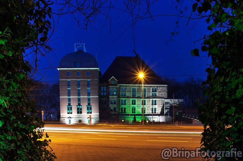 Outdoors No People Illuminated Castle Night Nightphotography Long Exposure Available Light LongTerm Longexposure Architecture Architecturephotography Schloss Langzeitbelichtung Ruhrgebiet