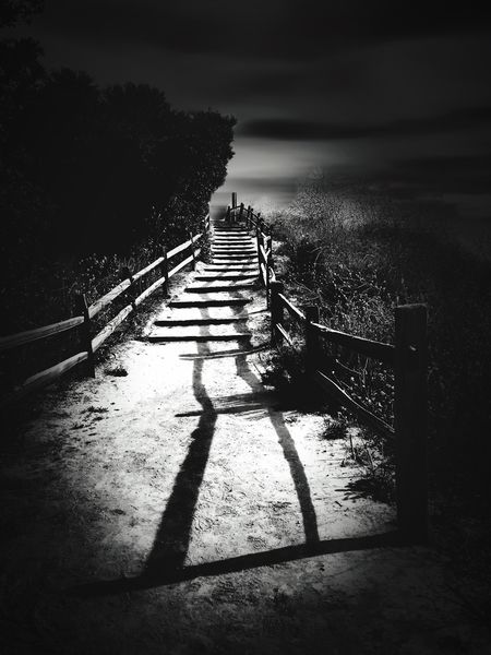 The Way Forward Railing Black & White Shootermag Popular Photos Youmobile EyeEm Gallery Monochrome Bw_collection EyeEm Best Shots - Black + White Way To Heaven Light And Shadow Shadows_collection Fences & Beyond Black And White Photography Mystery Atmosphere