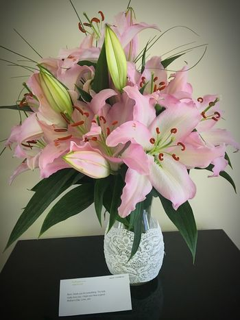 Flowers Lilies Mother's Day 2016 Love Fresh On Eyeem