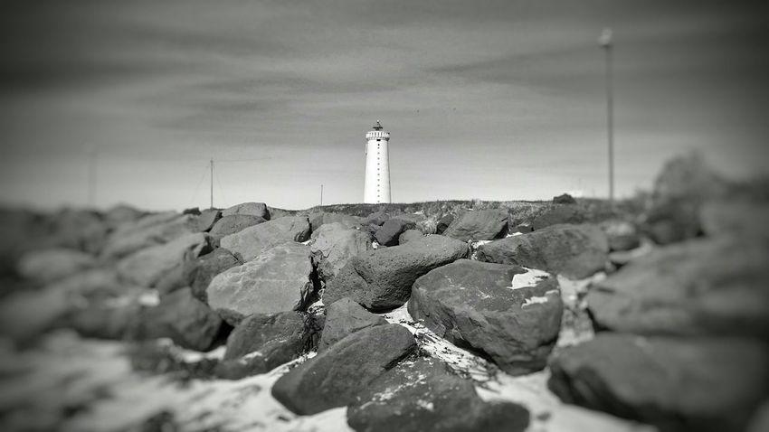 Garðskagaviti Lighthouse Blackandwhite Photography Bkack&white