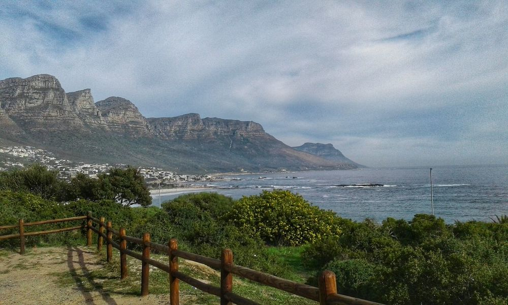 Camps Bay Cape Town Twelve Apostles Views Mountains Sea Tranquil Scene Fence Beauty In Nature Nature South Africa South Africa Is Amazing Spectacular View Cape Town, South Africa