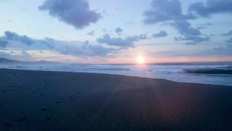 sunset Sunset Sun Beach Water Cloud - Sky Sea Reflection