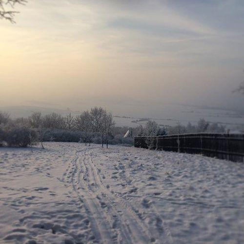 Winteriscoming Nofilter Winter Cechrepublic Photoamateur Winterwonderland Leniwaniedziela Trip Wycieczka Iphonephotography Coldhands Krnov Cvilin 21stopninaminusie Cold Snow