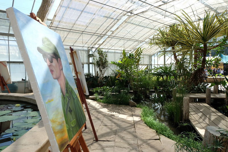EyeEmNewHere Greenhouse Agriculture Rama9 KingramaIX Fujifilm X-a2 Chieng Mai Thailand