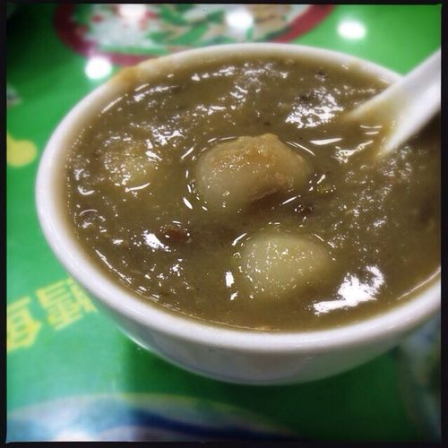 Cantonese Food Dessert Food Porn In My Mouf mung bean soup with glue pudding