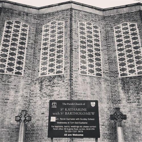 Church Eugeniaroad Silwood Silwoodestate selondon selondonforever mesh meshwindows crosses