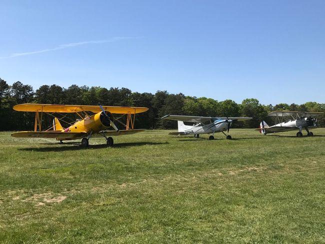 Vintage airplanes at Bayport Aerodrome, Long Island, NY Airplane Biplane Airport Bayport Bayport Aerodrome