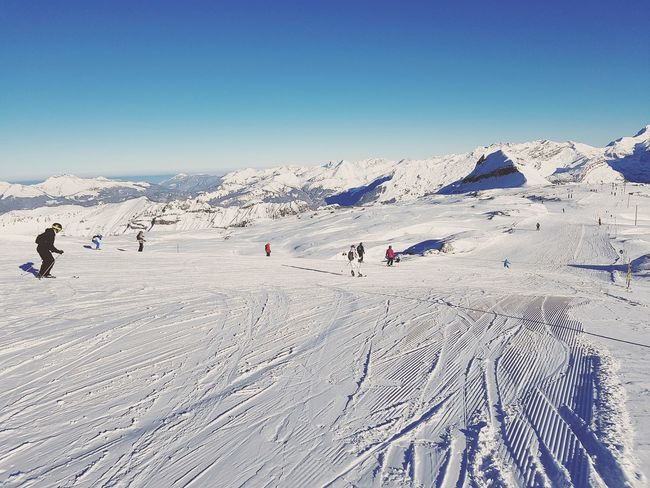 Snow Cold Temperature Nature Outdoors Snow ❄ Flaine Flainefrance Ski Skiing 🎿 Skiing ❄