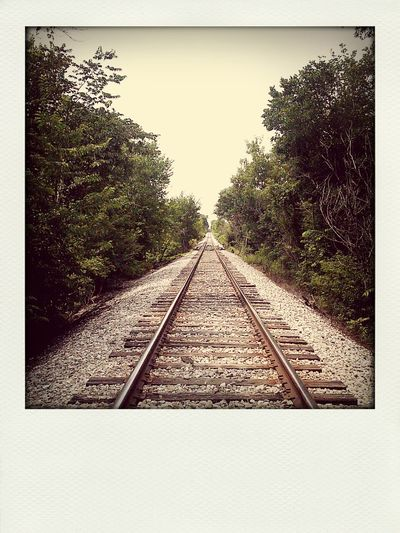 Walking the tracks Relaxing Enjoying Life