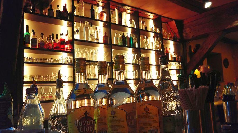 Indoors  Salsarico Bar . Spirituosen Friends Evening