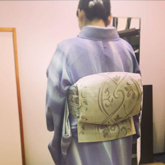 Tokyo,Japan MyFavorite  Japanese Style KimonoStyle Kimono Obi Silk Beautiful Sundayafternoon Kimonoschool Order Made お誂え