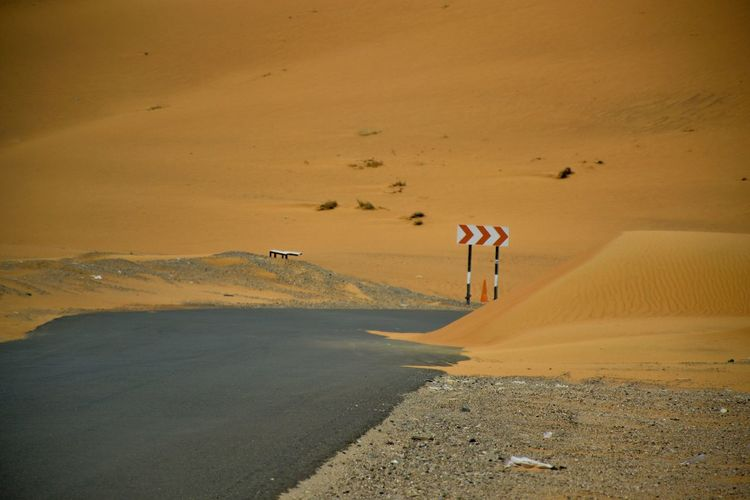 Desert Land Sand Tranquility Scenics - Nature Nature Landscape
