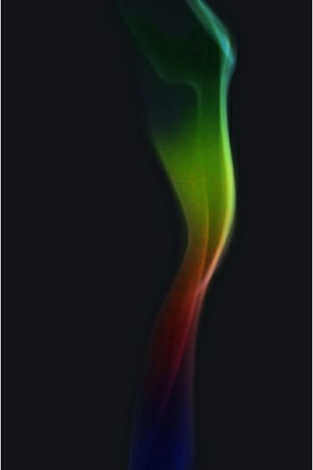 Smoke Colorful Rainbow Conceptual Photography  Blackbackground Sidelight