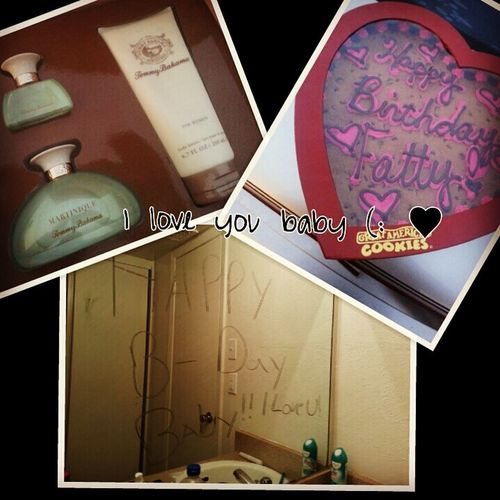 I Love You Baby ♥♥ What My Baby Got Me For My Birthday