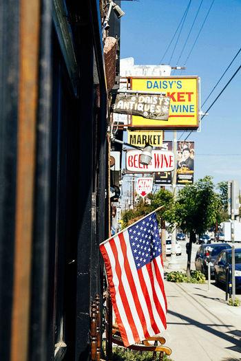 #America #flag #losangeles #shopping  #silverlake #street #streetphotography #Us #Usa